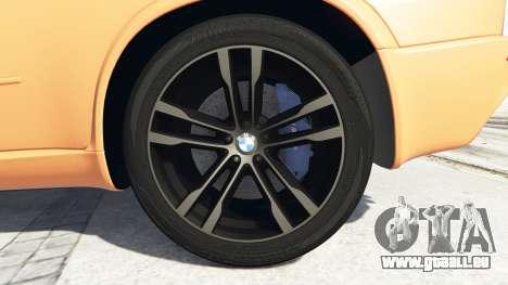 GTA 5 BMW X5 M (E70) 2013 v1.0 [add-on] arrière droit vue de côté