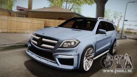 Mercedes-Benz GL63 Brabus für GTA San Andreas
