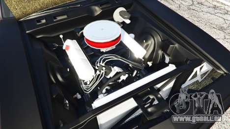 GTA 5 Plymouth Cuda BeckKustoms hinten rechts