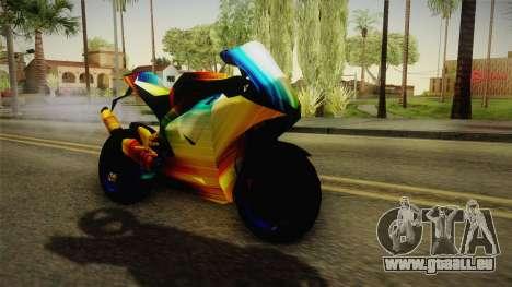 Rainbow Motorcycle für GTA San Andreas