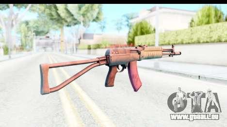 AEK-971 pour GTA San Andreas troisième écran