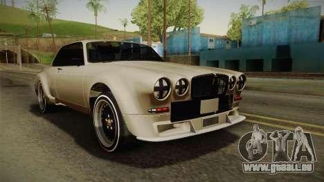 Jaguar Broadspeed XJC pour GTA San Andreas