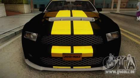 Ford Mustang GT500 für GTA San Andreas