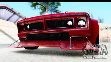 GTA 5 Declasse Tampa Drift IVF pour GTA San Andreas vue de côté