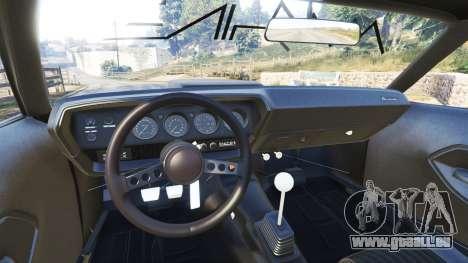 GTA 5 Plymouth Cuda BeckKustoms vorne rechts Seitenansicht