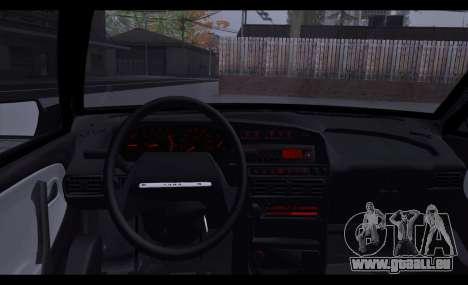 VAZ 2113 Zenki pour GTA San Andreas sur la vue arrière gauche