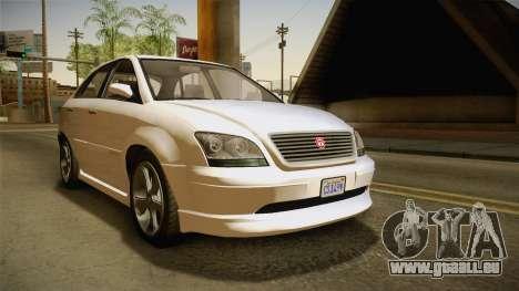 GTA 5 Emperor Habanero IVF für GTA San Andreas rechten Ansicht