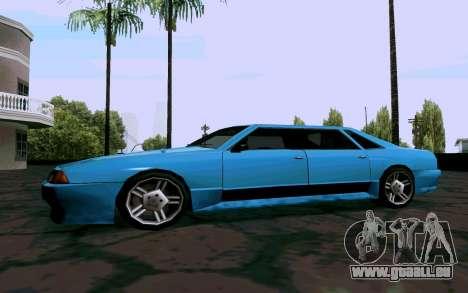 Elegy Sedan für GTA San Andreas zurück linke Ansicht