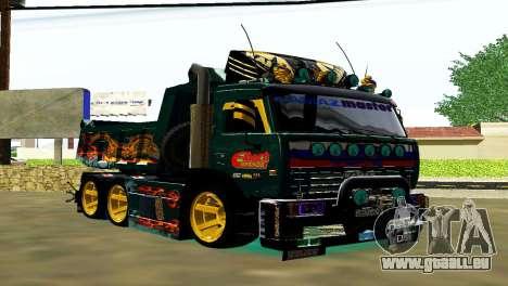 KaMAZ 65115 TURBO SAMOSVAL für GTA San Andreas