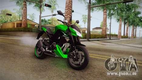 Kawasaki Z1000 für GTA San Andreas rechten Ansicht