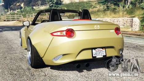 Mazda MX-5 2016 Rocket Bunny v0.1 [replace] für GTA 5
