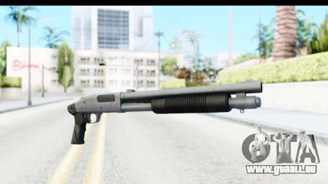 Tactical Mossberg 590A1 Chrome v1 pour GTA San Andreas
