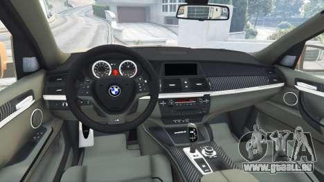 GTA 5 BMW X5 M (E70) 2013 v1.0 [add-on] avant droite vue de côté