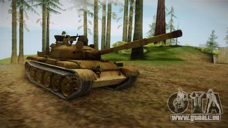 T-62 Desert Camo v3 pour GTA San Andreas