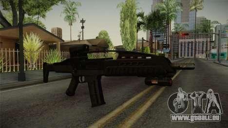 XM8 pour GTA San Andreas deuxième écran
