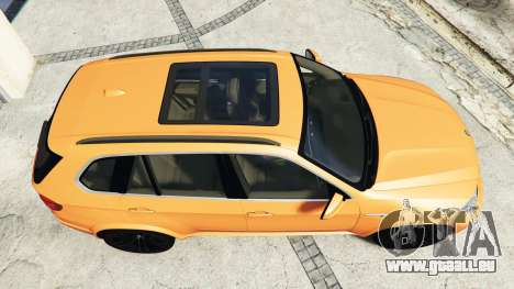 GTA 5 BMW X5 M (E70) 2013 v1.0 [add-on] vue arrière