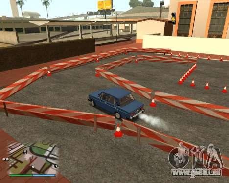 Die Schaltung, wie in der Fahrschule für GTA San Andreas fünften Screenshot