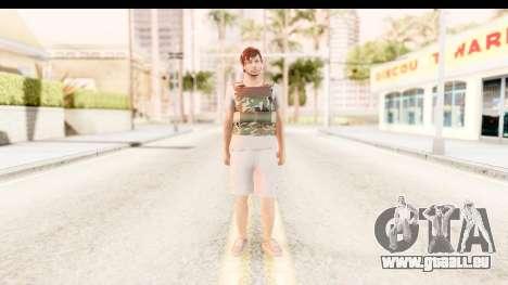 GTA 5 Random Skin 5 pour GTA San Andreas deuxième écran