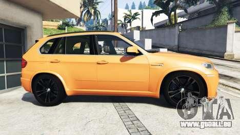 GTA 5 BMW X5 M (E70) 2013 v1.0 [add-on] vue latérale gauche