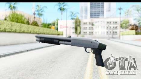 Tactical Mossberg 590A1 Chrome v1 für GTA San Andreas zweiten Screenshot