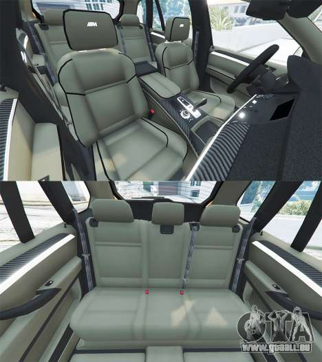 GTA 5 BMW X5 M (E70) 2013 v1.0 [add-on] volant