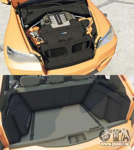 GTA 5 BMW X5 M (E70) 2013 v1.0 [add-on] droite vue latérale