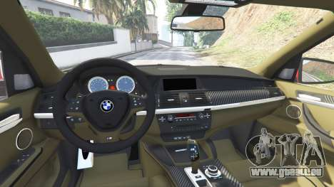 GTA 5 BMW X5 M (E70) 2013 v0.3 [replace] vorne rechts Seitenansicht