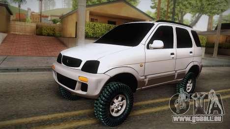 Toyota Daihatsu Terios 2000 pour GTA San Andreas