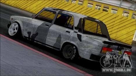 2107 Unique pour GTA San Andreas laissé vue