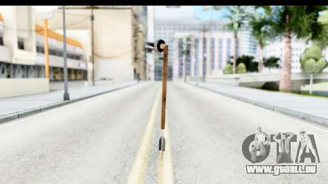 Star Wars Tusken Gaderffii für GTA San Andreas dritten Screenshot