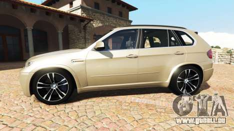 GTA 5 BMW X5 M (E70) 2013 v1.2 [add-on] vue latérale gauche