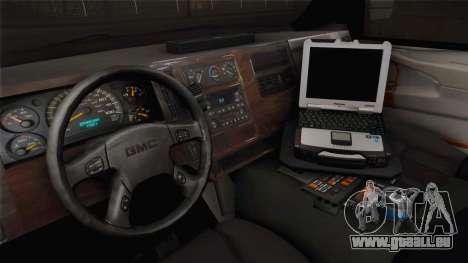 Chevrolet Express 2011 Ambulance pour GTA San Andreas vue intérieure