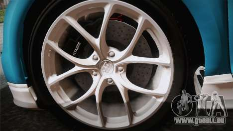 Bugatti Chiron 2017 v2.0 Italian Plate für GTA San Andreas rechten Ansicht