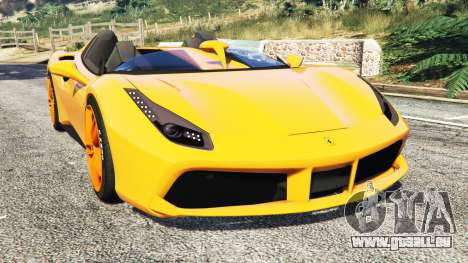 Ferrari 488 Speedster 2016 [replace] für GTA 5