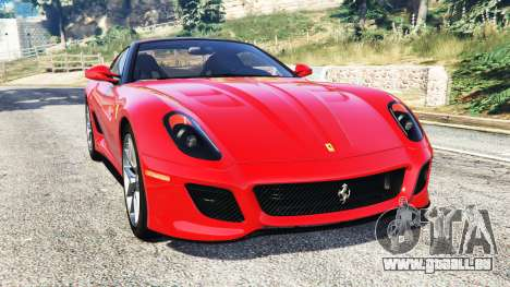 Ferrari 599 GTO [replace] für GTA 5