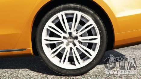 GTA 5 Audi A8 L (D4) 2013 [replace] hinten rechts