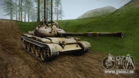 T-62 Desert Camo v1 pour GTA San Andreas