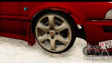 Rover 220 Kent 2 für GTA San Andreas Rückansicht