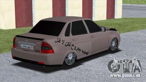 Lada Priora Brodyaga pour GTA San Andreas laissé vue