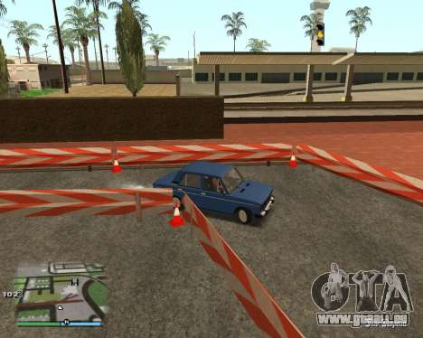 Die Schaltung, wie in der Fahrschule für GTA San Andreas sechsten Screenshot