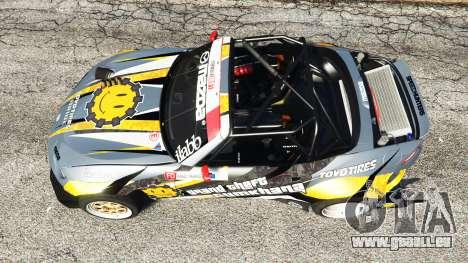 GTA 5 Mazda MX-5 (ND) RADBUL Mango [replace] vue arrière
