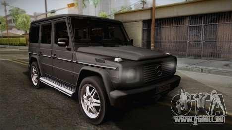 Mercedes-Benz G500 pour GTA San Andreas