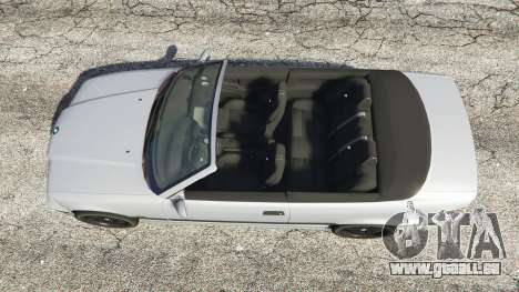 GTA 5 BMW 328i (E36) M-Sport [replace] Rückansicht