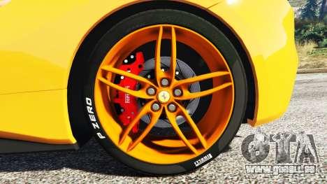 GTA 5 Ferrari 488 Speedster 2016 [replace] hinten rechts