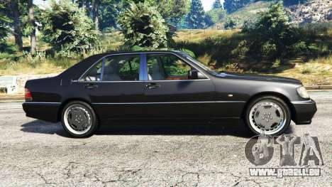 Mercedes-Benz W140 AMG [replace] für GTA 5