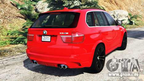 GTA 5 BMW X5 M (E70) 2013 v0.3 [replace] hinten links Seitenansicht