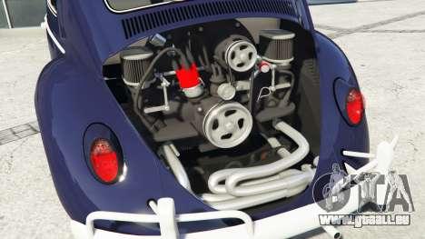 GTA 5 Volkswagen Fusca 1968 v0.9 [add-on] rechte Seitenansicht