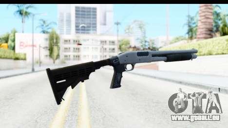 Tactical Mossberg 590A1 Chrome v2 pour GTA San Andreas deuxième écran