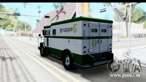 GTA 5 Stockade v1 IVF pour GTA San Andreas laissé vue