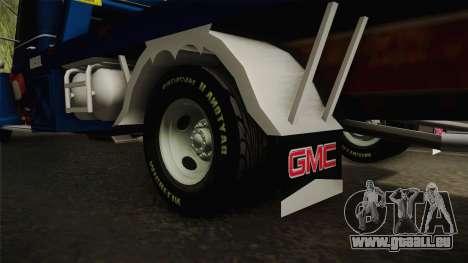 GMC 4100 1950 GRUA pour GTA San Andreas vue intérieure